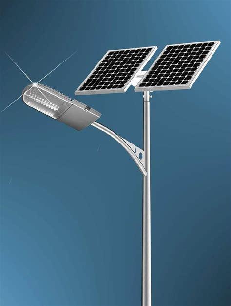 solar powered road lights sewa completes solar powered lighting project utilities