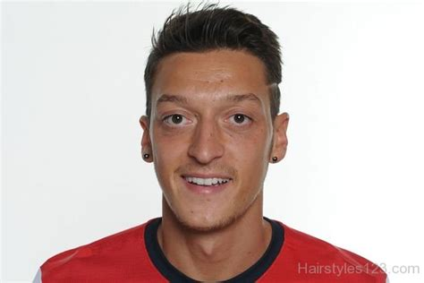 mesut ozil new haircut new hairstyle of mesut ozil