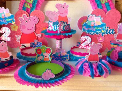 decoracion cumplea os peppa pig decoraciones infantiles peppa pig