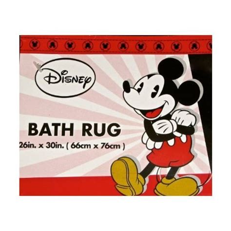 Mickey Mouse Bathroom Rug Disney Mickey Mouse Bath Rug Home Rugs For Sale