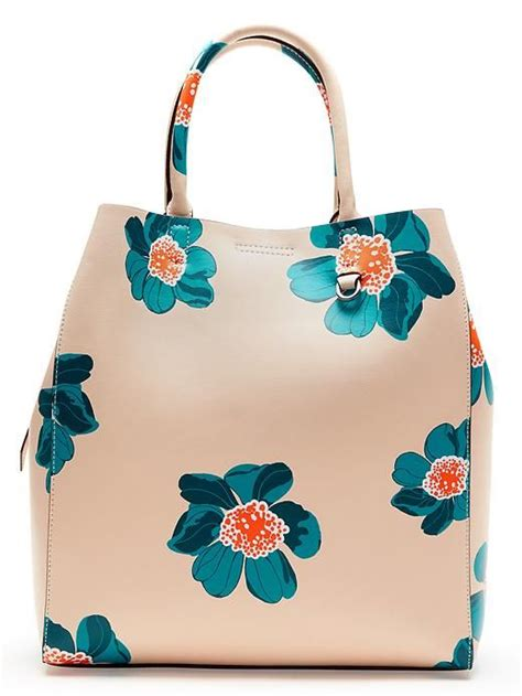 Dressc Print Tote by Florals Aren T Just For Your Tops And Dresses This