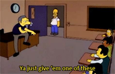 lecture format gif homer simpson teacher gif find share on giphy