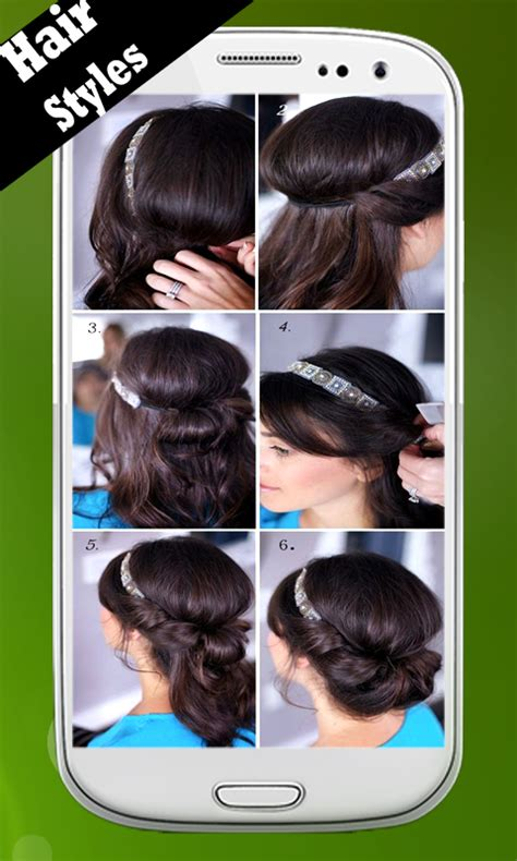 hairstyles app android hair styles step by step download and install android