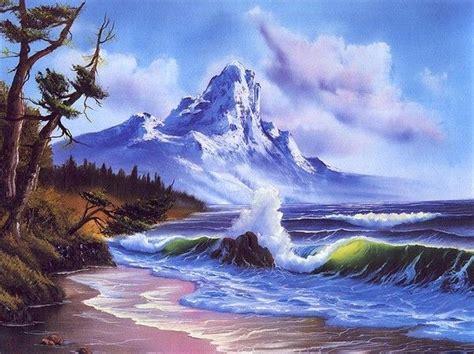 bob ross painting marshlands die besten 25 bob ros ideen auf