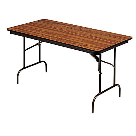 Office Depot Folding Table by Iceberg Premium Folding Table Rectangular 72 W X 30 D