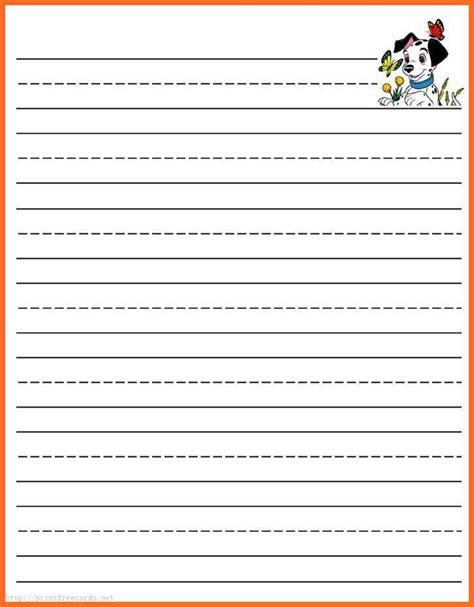 printable lined story paper free writing paper free printable lined writing paper lined