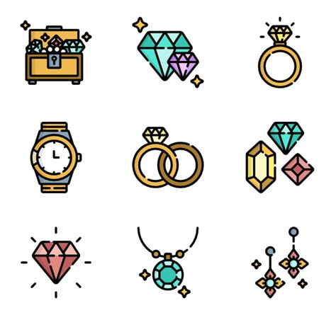 icon design jewelry 7 jewelry icon packs vector icon packs svg psd png