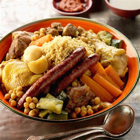 recette cuisine couscous couscous tunisien recette sur cuisine actuelle