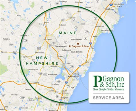 map of maine and nh service area heating propane delivery me nh