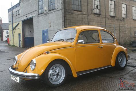 volkswagen lemon vw volkswagen gt beetle 1973 1600 lemon yellow