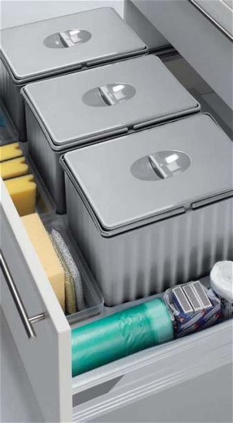 Drawer Management by Kitchen Storage Waste Management