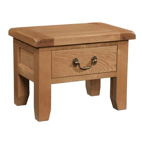 Side Table With Drawer Countryside Pine And Oak