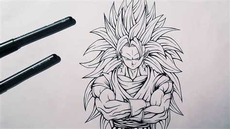 Z Sketches by Sketching Inking Vegito Saiyan 3 Z