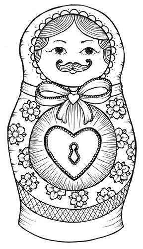 gallery for gt matryoshka tattoo drawing babushka