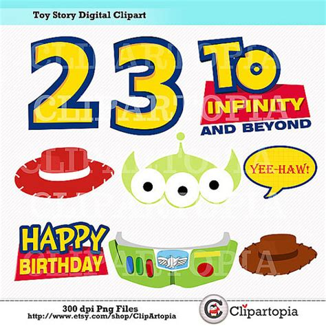free printable toy story happy birthday banner t story digital clipart diy toy story party printables