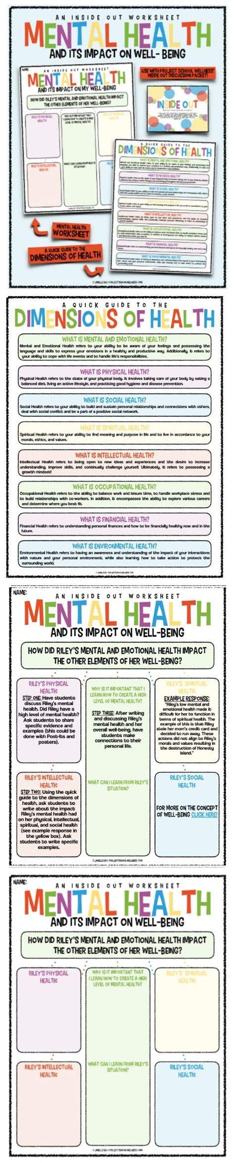 Mental Health Worksheets For Children by Every Health And School Counselors Needs This