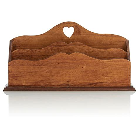 Wooden Letter Rack by George Home Wooden Letter Rack Home Accessories Asda