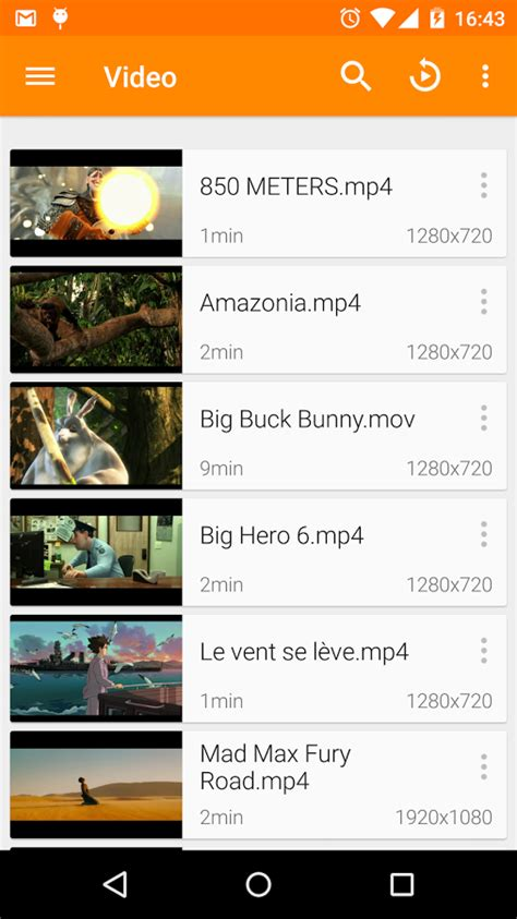 vlc player apk file vlc for android 2 0 6 apk android media apps