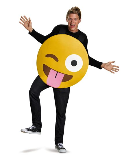 Pioneer Shoes Original Winky White winky tongue out emoticon costume costumes
