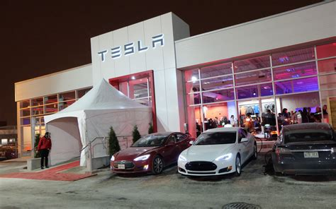 tesla dealership special events tesla montreal s grand opening the car