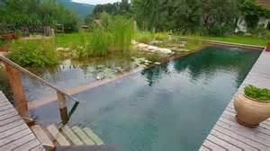 Natural Pool by Byzantineflowers Organic Natural Swimming Pools