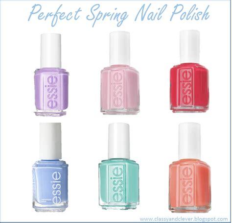 Spring Mature Nail Colors   classy clever spring nail polish colors