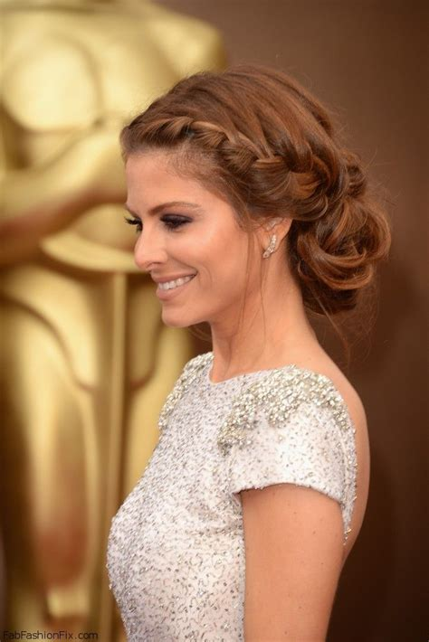 1468 best images about braided beauty on pinterest maria menounos with beautiful braided hairstyle at 2014