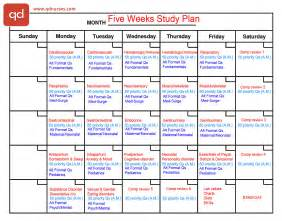 study plan template 2 study plans you need to pass the nclex qd nurses