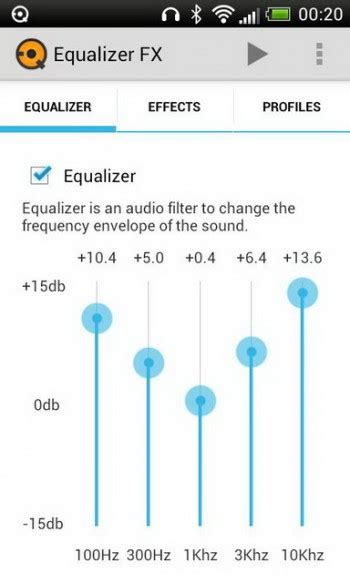 equalizer fx apk best equalizer for android