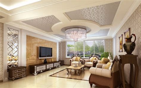Pop Ceiling Designs For Drawing Room Modern Living Room