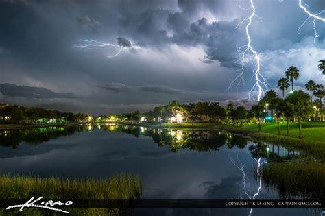 lake katherine tree lighting lightning palm gardens