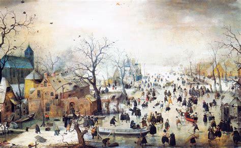 Winter Landscape Ks2 Hendrick Averc S Winter Landscape With Skaters C