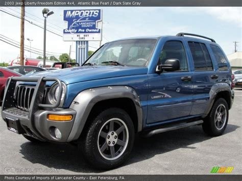 Jeep Liberty Freedom Edition 2003 2003 Jeep Liberty Freedom Edition 4x4 In Atlantic Blue