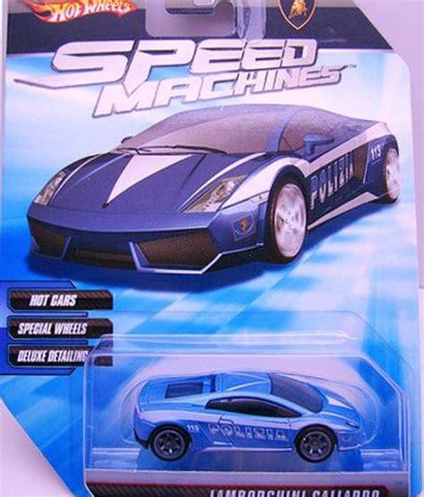 Hotwheels B Machine wheels speed machines lamborghini gallardo polizia blue 1 64 scale buy wheels speed
