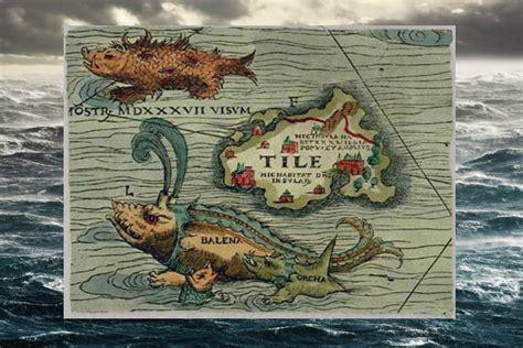 sea monsters on medieval the evolution of sea monsters on medieval maps