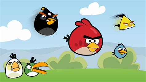 Wallpaper With Game Birds | angry birds game hd wallpaper mytechshout blogging