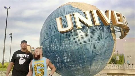 Wwe Universal Sweepstakes - universal orlando resort tv commercial best day ever featuring enzo and cass ispot tv
