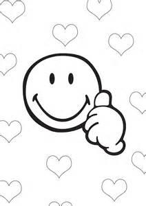 coloriage smiley blog
