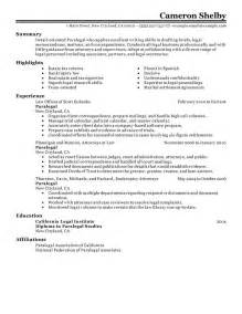 Examples Of Paralegal Resumes Paralegal Resume Sample My Perfect Resume