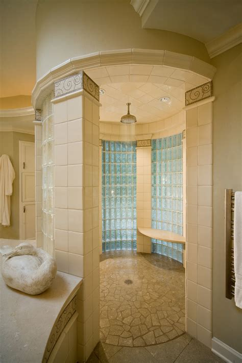 glass wall bathroom glass wall panels bathroom traditional with glass block gold mosaic beeyoutifullife