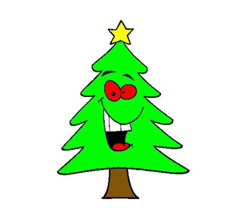 dibujo de 225 rbol navidad pintado por pino en dibujos net el