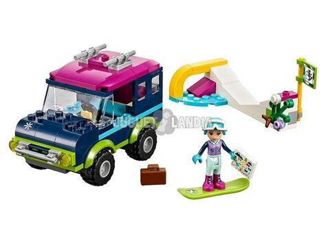 Lego Friends Valencia lego friends todo terreno y estaci 243 n de esqu 237 juguetilandia