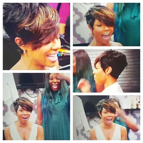 kim kimble short hairstyles wendy raquel robinson hair as styled by kim kimble 2015