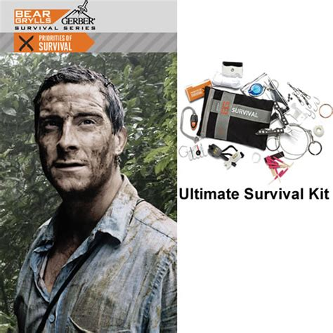 grylls survival series ultimate kit grylls ultimate survival kit bearultimate