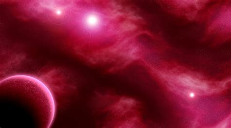deep red space by archive555 on deviantart