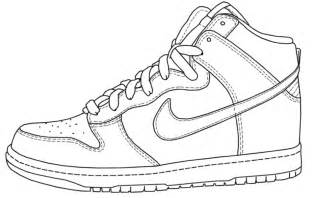 shoe drawing template free how to draw shoes coloring pages