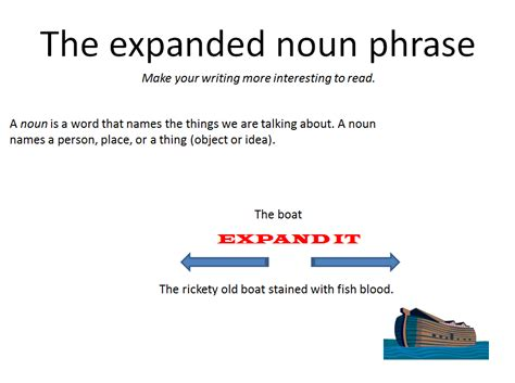 year 6 english expanded noun phrases portland place