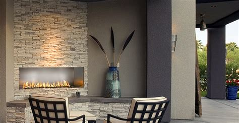 outdoor gas fireplaces modern outdoor fireplaces