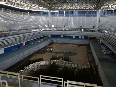 olympics venues arenas in rio falling apart after the olympic games abc news