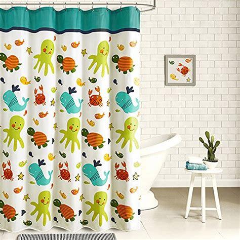 kids fabric shower curtains compare price to kids bath shower curtain dreamboracay com